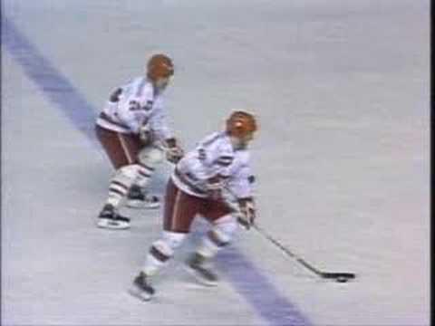 Canada Cup 1987 Second Game Goals - Canada vs. USSR