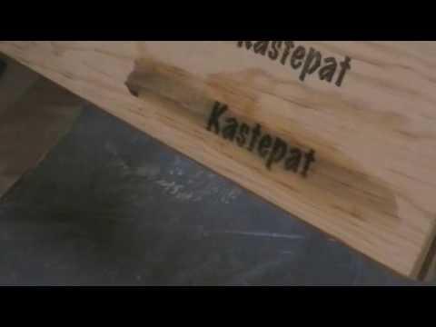 astuce comment imprimer sur du bois et le vernir kastepat youtube. Black Bedroom Furniture Sets. Home Design Ideas