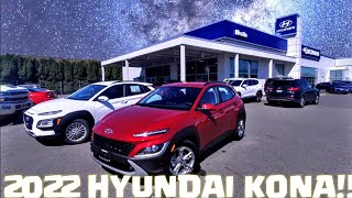 2022 Hyundai Kona changes and feature review!