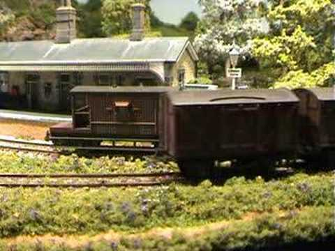 Littleton Curve – an  N Gauge Model Railway