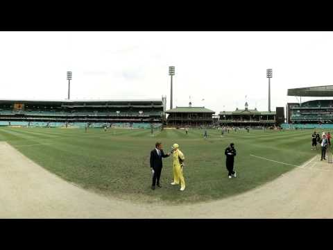 360: Australia win the toss and elect to bat