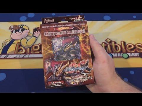 Future Card Buddyfight X Start Deck 1: Demon Lord Dragon of Tempest Opening