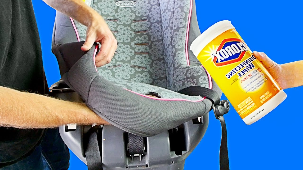 How to Clean the Graco MyRide 65 Car Seat - YouTube
