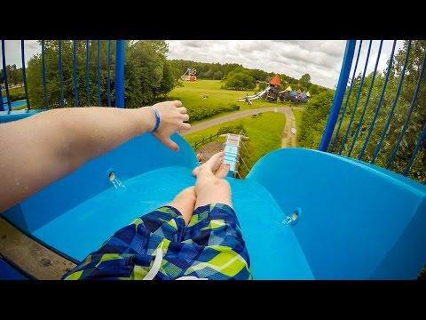 Tosselilla Sommarland - Tossestupet | Freefall Speed Slide Onride POV