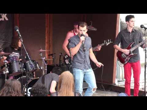 Port Jefferson's Chapter Four play at Liberty Tour 2017
