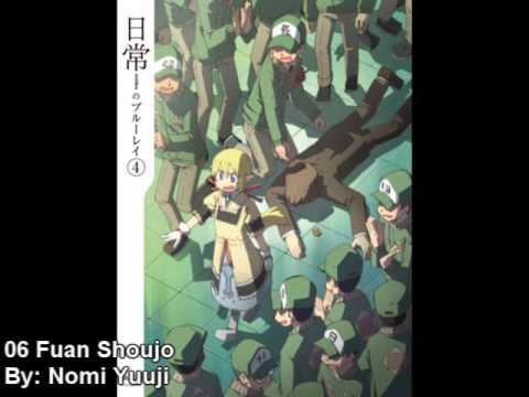 Nichijou OST - Fuan Shoujo - YouTube