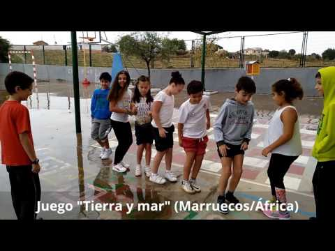 """Juego """"Tierra y mar"""" (Marruecos - África)"""