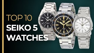 Top 10 SEIKO 5 Watches - The BEST Watches for Under $200