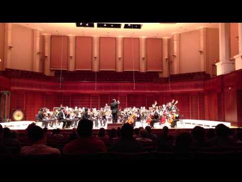 Dvorak New World Symphony Rice Campanile Orchestra