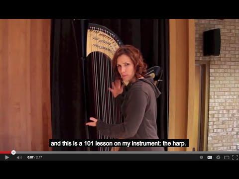 Cours de harpe 101 / 101 Harp Lesson