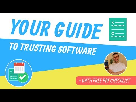 How To Trust Productivity Software