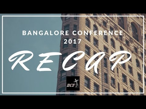 Encouragement from Bangalore Conference (Part 1) - 8th October, 2017
