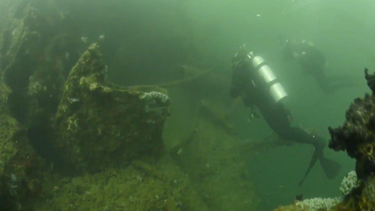 Underwater Video of USS Utah Memorial (HD) - YouTube
