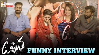 Uppena Movie Team FUNNY INTERVIEW | Panja Vaisshnav Tej | Vijay Sethupathi | Krithi Shetty