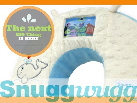 Baby Toddler Tummy Time Travel Pillow Flashcards Or