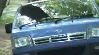 How To:  Break an axle on a Daihatsu Hijet