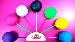 Lollipop Play Doh Surprise Eggs Frozen Mickey Mouse Batman Disney Princess Thumbnail