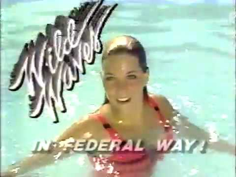 Wild Waves Water Park 1986 TV commercial