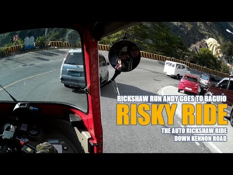 Risky Ride - The Auto Rickshaw Ride Down Kennon Road - FULL