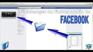télécharger un son enregistré par Facebook messenger