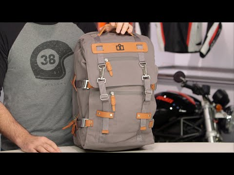 151f84fc4e ICON 1000 Advokat Backpack Review at RevZilla.com - YouTube