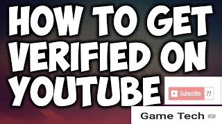 How To Get VERIFIED On YouTube 2016! (FOR SMALL CHANNELS) NEW METHOD! Youtube Verified Badge!