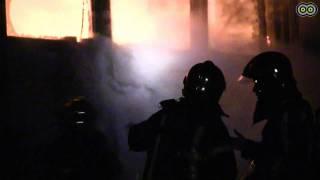 Grote brand in Amstelveen