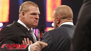 Triple H raises the stakes for Kane at WWE Payback: Raw, May 11, 2015