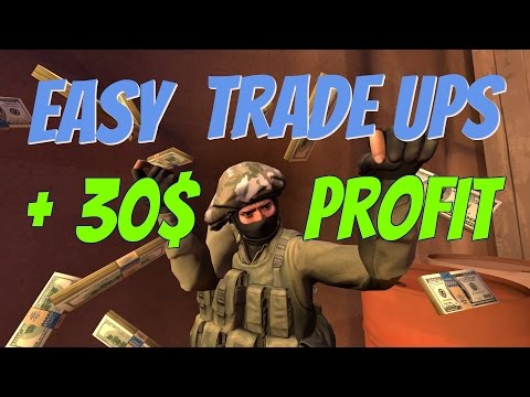 Profit +30 $ just in 5 Trade up contracts - crafting best Skins in CS:GO #71