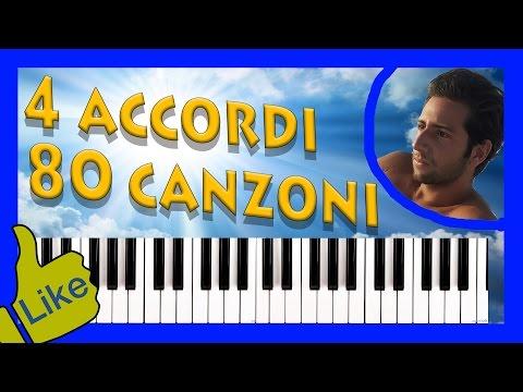 4 Accordi, 80 Canzoni al Pianoforte! [PRIMA PARTE]