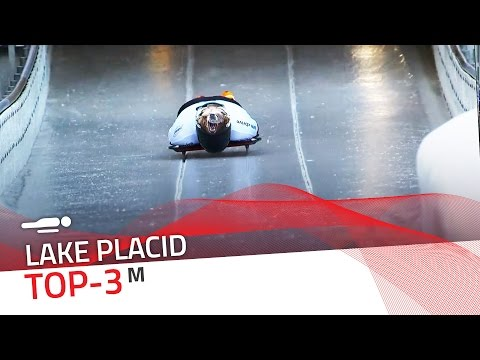 Lake Placid | Men's Skeleton Top-3 | IBSF Official