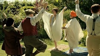 The Guru teaches yoga - Mapp and Lucia: Episode 2 Preview - BBC One Christmas 2014