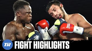 Isaac Dogboe returns and finishes Chris Avalos late in the 8th round | FULL FIGHT HIGHLIGHTS