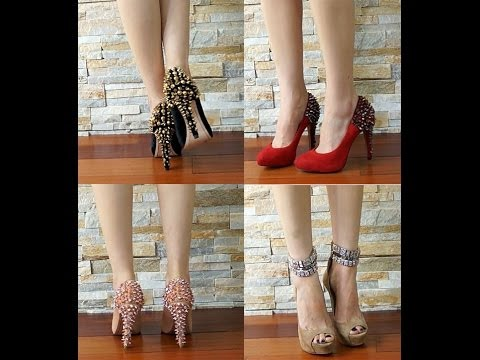 My Favorite Shoe Collection 2013 (Tory Burch, Jimmy Choo, Sam Edelman, Christian Louboutin)