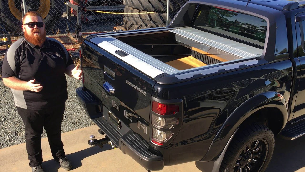 Shocking Ford Ranger Wildtrak Roller Shutter Security Fault Youtube