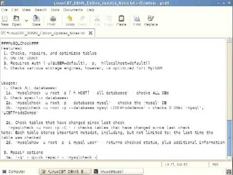 50 Mysql Database MySQLCheck