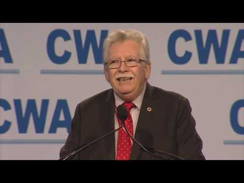 CWA President Chris Shelton Addresses The 77th Communications Workers Of America Convention