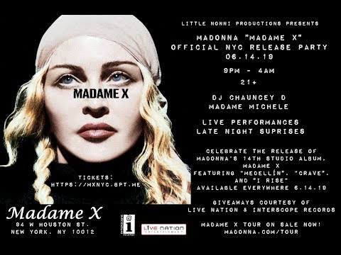 Madonna: Madame X Official NYC Release Party @ Madame X NYC [06/14/19]