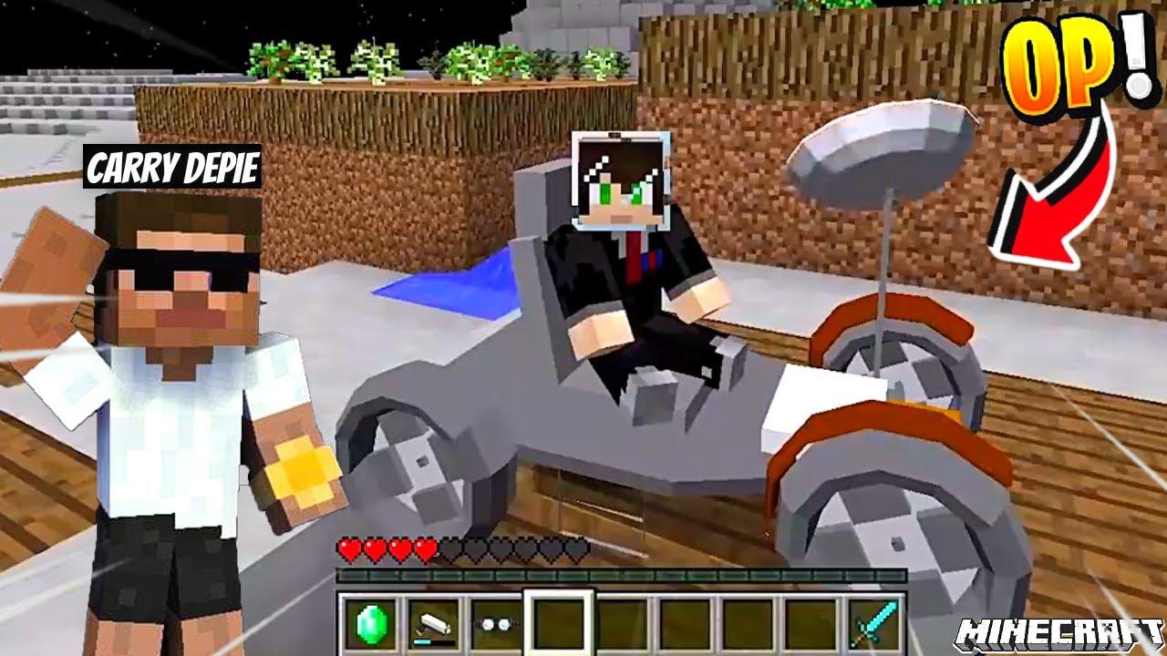 I Found Aliens On Moon in Minecraft !!