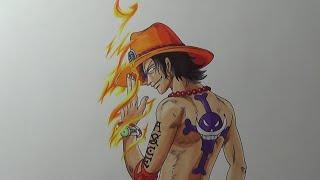 Ace One Piece vua hải tặc