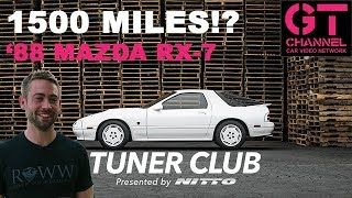video thumbnail of Cody Walker's 1988 Mazda RX-7 w/ Only 1500 Miles - Tuner Club by Nitto Eps.9
