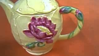 Carlton Ware Water Lilly Teapot for Sale on Ebay Australia
