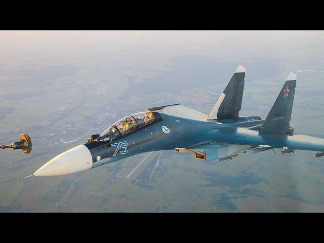 Дозаправка в воздухе летчиков Балтийского флота