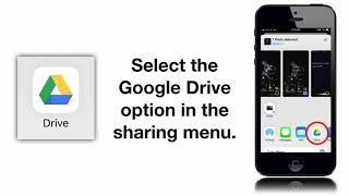 How to Upload iPhone Photos to Google Drive