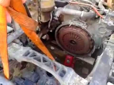 Замена сцепления и венца маховика Scania