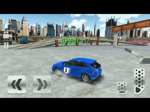 Уличные гонки на SubaruImprezaWRX Дрифт Children's Racing Cartoon Drift