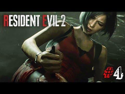 СПАСАЮ АДУ ВОНГ! ► Resident Evil 2 Remake Прохождение #4 ► ХОРРОР ИГРА