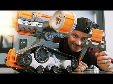 TERRASCOUT Nerf DRONE | Review & Battle Demo in 4K!