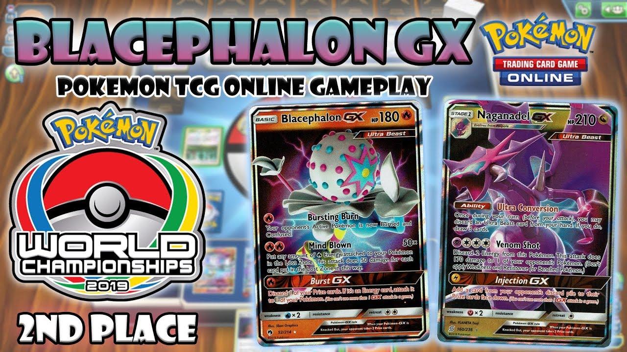 Blacephalon GX - Pokemon TCG Online Gameplay