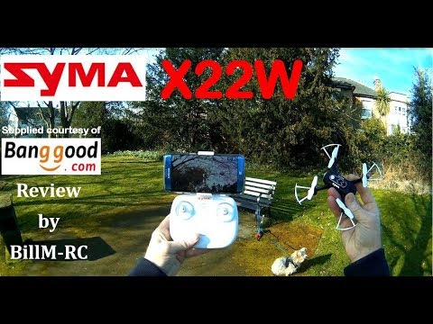 Фото Syma X22W WiFi FPV RC Quadcopter drone - Full Review